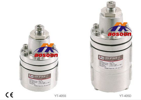 YTC YT-405 Stainless steel Air lock valve