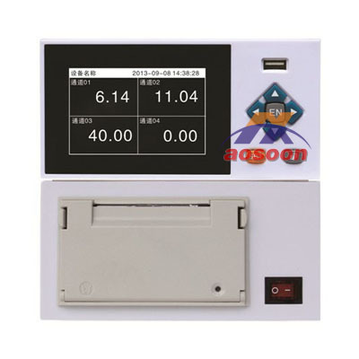 AXT400 color paperless recorder, chart recorder