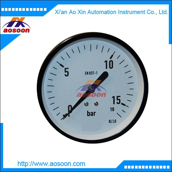 China bottom mounting surface mounting lower mounting lower back mounting pressure gauge