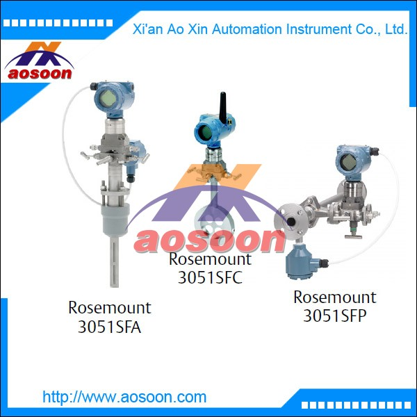Rosemount 3051SF Annubar DP Flowmeter Advanced Diagnostics